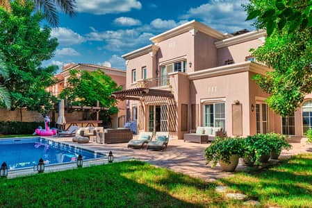 4 Bedroom Villa for Rent in Arabian Ranches, Dubai - Smart Home | Private Pool | Rent Online