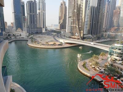 شقة 1 غرفة نوم للبيع في دبي مارينا، دبي - Marina View Lower Floor Large Balcony