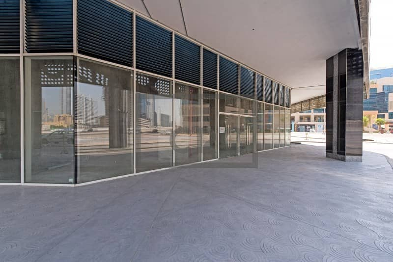 High Visibility Retail Space | Business Bay | For Sale