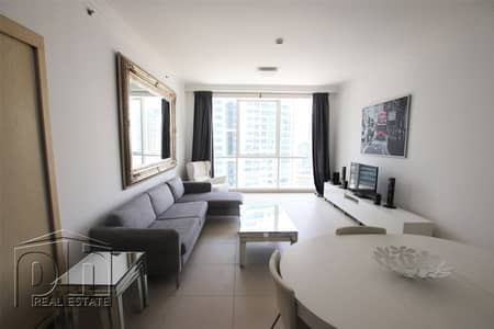 فلیٹ 2 غرفة نوم للايجار في جميرا بيتش ريزيدنس، دبي - Furnished | Spacious | Partial Marina View