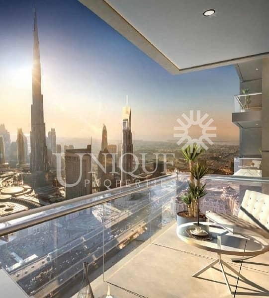 High Floor | Spacious Unit | Downtown Views