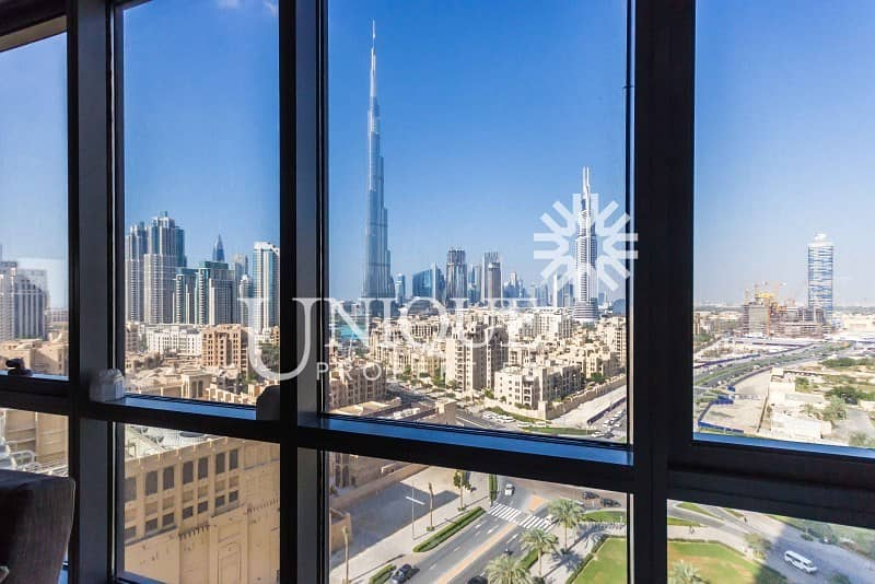 2 Price Reduced | Upgraded |Full Burj Khalifa view