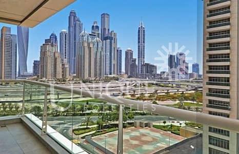 شقة 2 غرفة نوم للبيع في أبراج بحيرات الجميرا، دبي - Spacious 2Br + Maid 06 series facing Shk Zayed