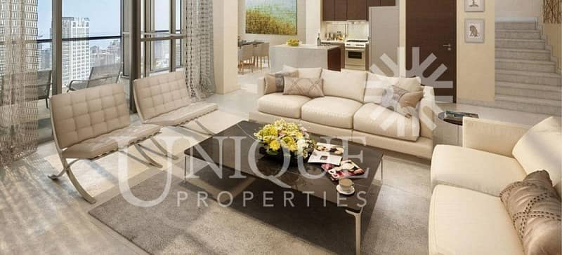2 Spacious |Full Burj Khalifa View | Bellevue Towers