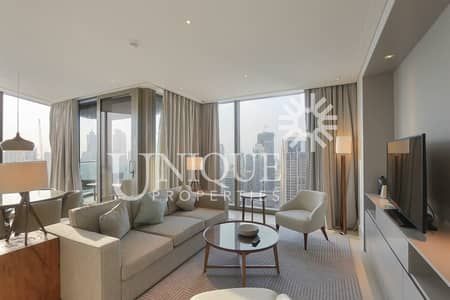 2 Bedroom Flat for Sale in Downtown Dubai, Dubai - High Floor Fully Furnished 2BR Vida Downtown
