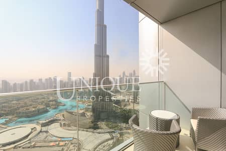 High Floor 2BR w/ Burj Khalifa view in Downtown