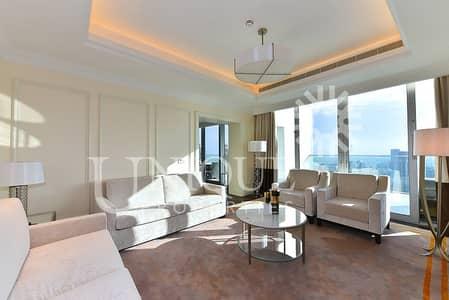 بنتهاوس 3 غرف نوم للايجار في وسط مدينة دبي، دبي - Sky Collection Duplex Apt | Burj + Fountain view