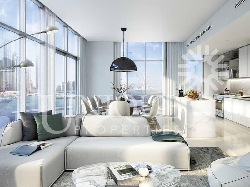 12 Amazing Sea view apartment 2 bedroom
