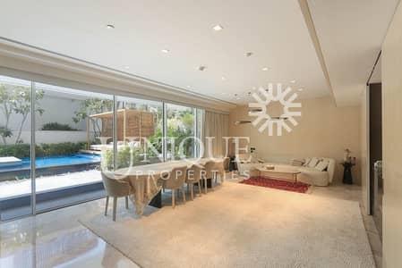 فلیٹ 4 غرف نوم للبيع في نخلة جميرا، دبي - 4 Bedroom Duplex with Private Pool and Garden