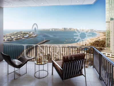 Full Sea and Dubai Eye View 2 Bedroom | 52-42