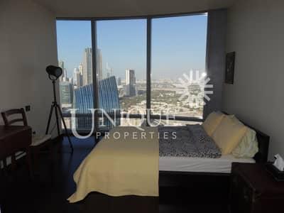شقة 2 غرفة نوم للايجار في وسط مدينة دبي، دبي - Mid Floor   Sea View   Unfurnished