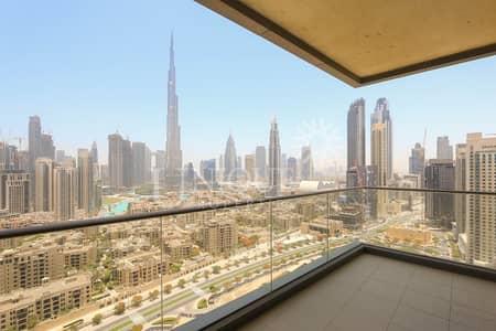 شقة 3 غرف نوم للايجار في وسط مدينة دبي، دبي - 3BR+M Burj Khalifa & Old Town View