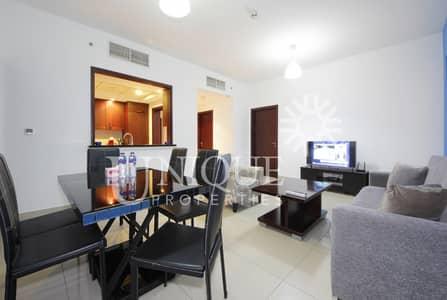 شقة 2 غرفة نوم للايجار في وسط مدينة دبي، دبي - Classy 2 Bedroom | Huge Terrace | Furnished