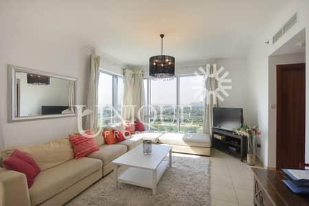 فلیٹ 2 غرفة نوم للايجار في ذا فيوز، دبي - Fully Furnished 2BR Golf course view Fairways East
