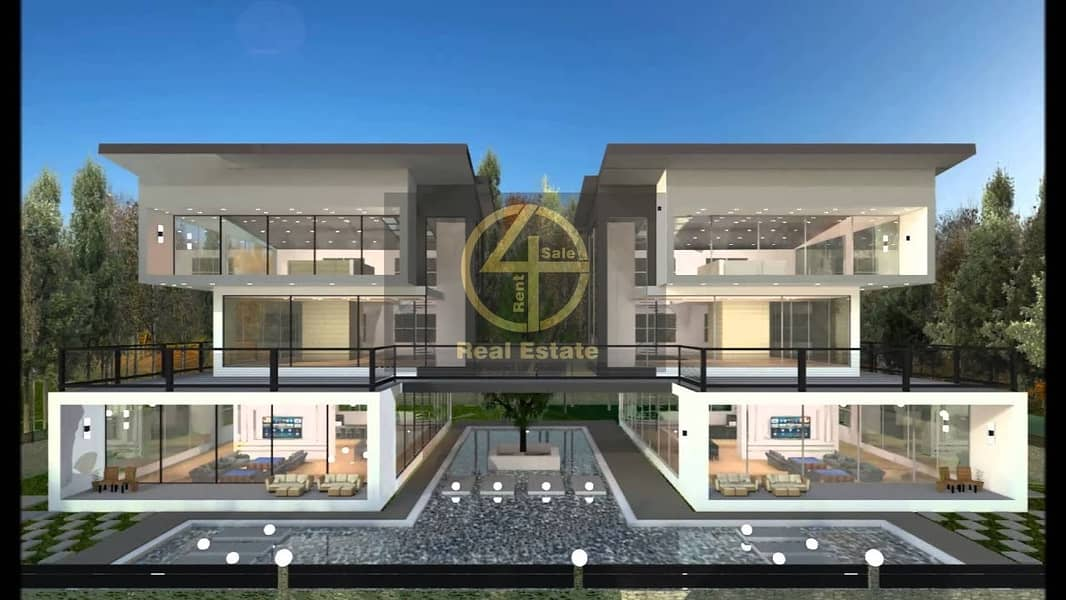 #Zero Transfer Fees!Luxurious Incredible 2 Villa/ Elegant Design