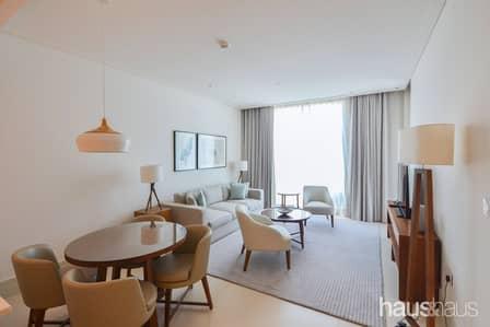 1 Bedroom Apartment for Rent in Downtown Dubai, Dubai - Fully Serviced | Balcony | All Inc Optional