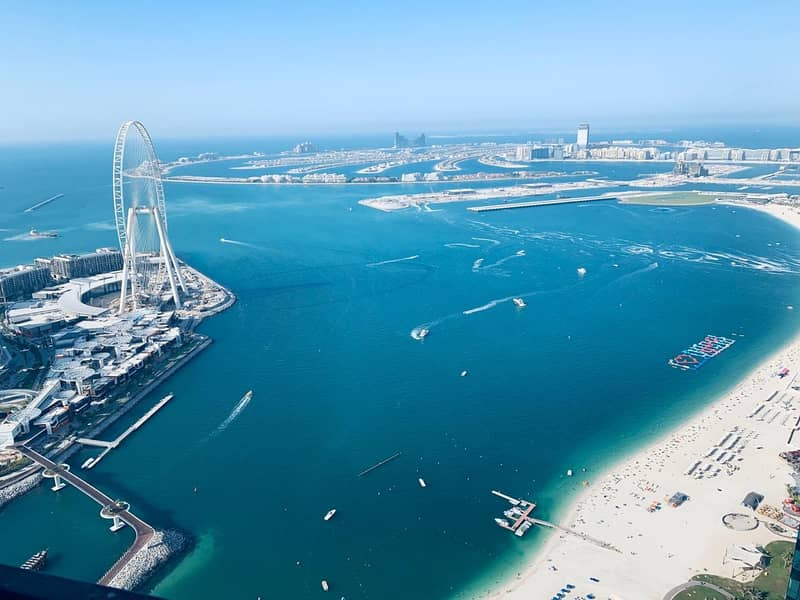 4 Bed with Full Sea and Ain Dubai view