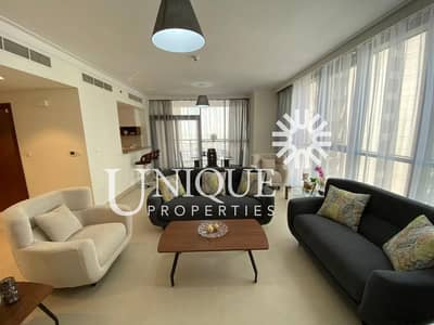 2 Bedroom Apartment for Rent in The Lagoons, Dubai - Fully Furnished High Floor 2BR Creek Residences T2