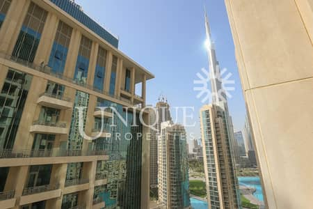 1 Bedroom Apartment for Rent in Downtown Dubai, Dubai - Burj Khalifa View