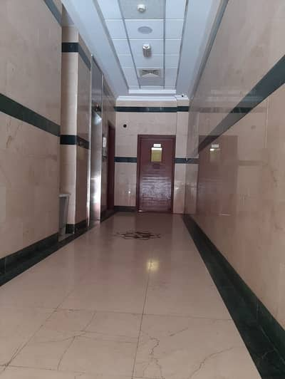 For rent Flat 1BK and a hall  opposite the court close to Etisalat all services