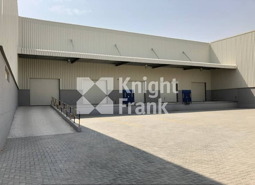 Spacious Warehouse available for sell-JAFZA South