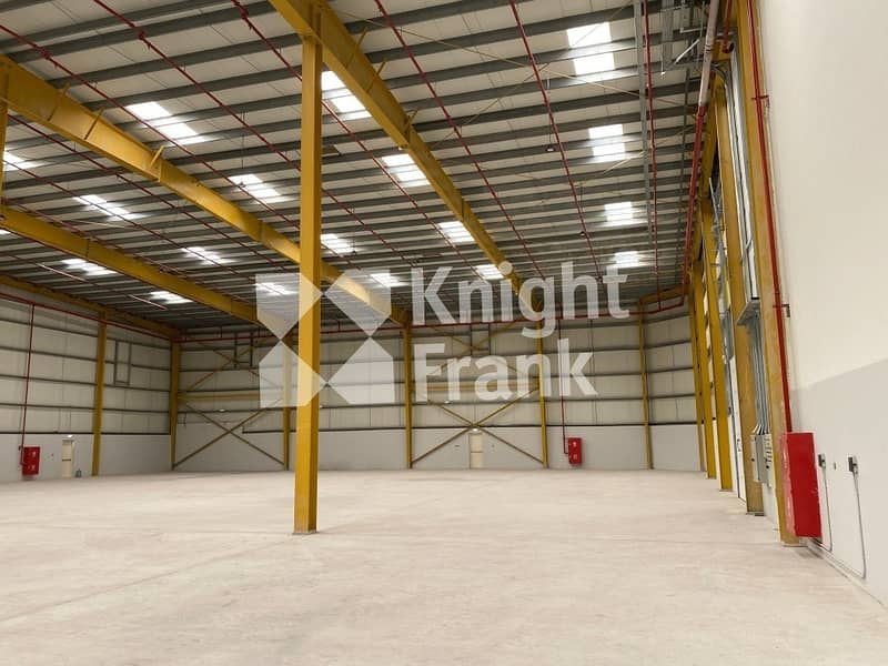 New warehouse with office for sale I 1200 kW