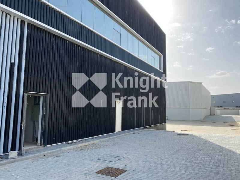 2 New warehouse with office for sale I 1200 kW