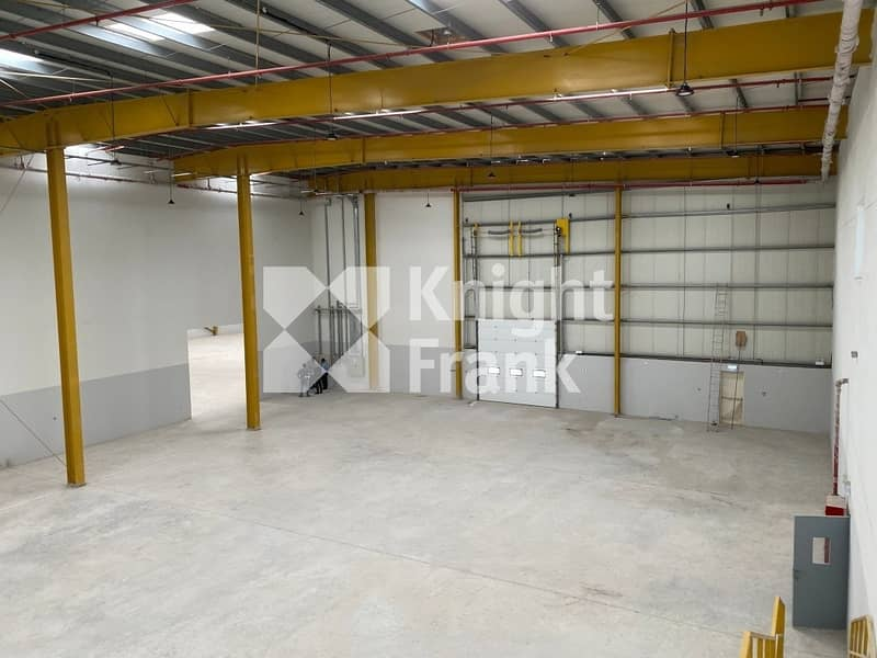 25 New warehouse with office for sale I 1200 kW