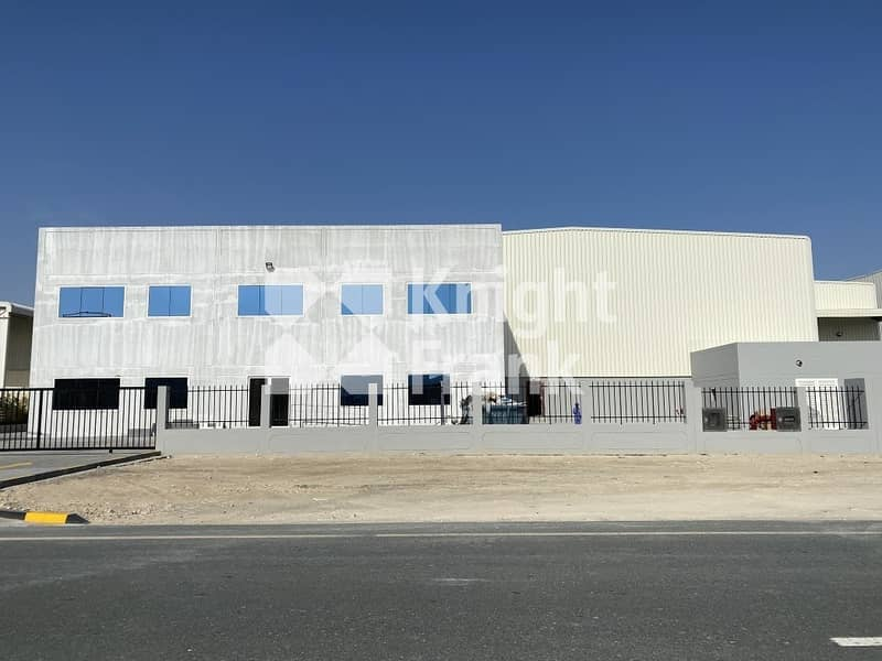 2 New warehouse in JAFZA high eaves 350kW