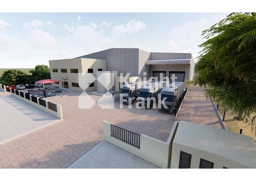 15 New warehouse in JAFZA high eaves 350kW