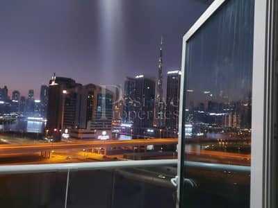 1 Bedroom Apartment for Rent in Business Bay, Dubai - Burj Khalifa View and Canal View