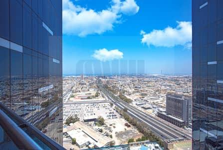 فلیٹ 2 غرفة نوم للايجار في شارع الشيخ زايد، دبي - Fully Furnished Apartment  on SZR   Panoramic Sea views !