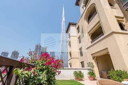 فلیٹ 2 غرفة نوم للايجار في المدينة القديمة، دبي - Fully Furnished 2BR w/Private Garden