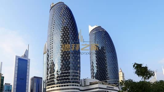 2 Bedroom Apartment for Rent in DIFC, Dubai - Gorgeous Unfurnished 2BHK+Maids  with Sheikh Zayed View
