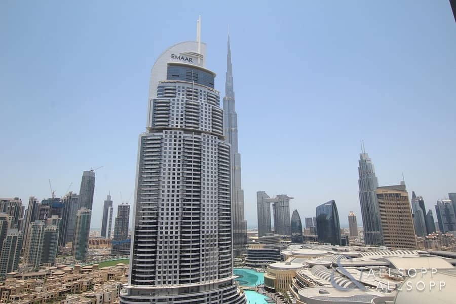 Boulevard Point | Two Bedroom | Burj View