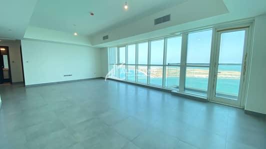 3 Bedroom Flat for Rent in Corniche Road, Abu Dhabi - Impressive Sea View! 3BR+Maids Room I Basement Parking