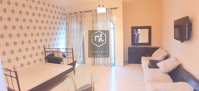 Studio for Rent in International City, Dubai - ONE MONTH FREE-DEWA CONNECTED-FURNISHED STUDIO WITH BALCONY-PERSIA CLUSTER-INTERNATIONAL CITY