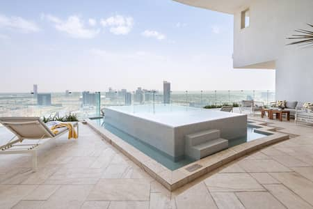 2 Bedroom Apartment for Sale in Jumeirah Village Circle (JVC), Dubai - Private Pool | High Floor | Huge Terrace