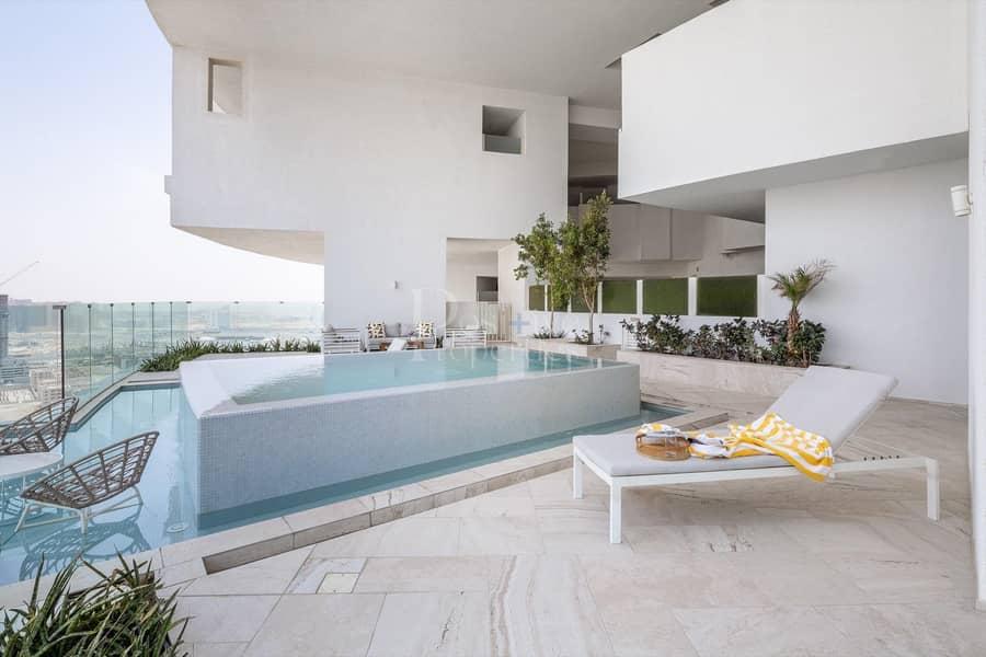 12 Private Pool | High Floor | Huge Terrace