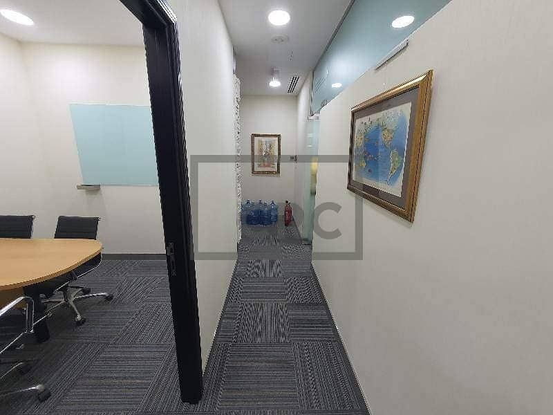 2 Furnished | ALMAS Tower | Close to Metro | 1 Private Parking