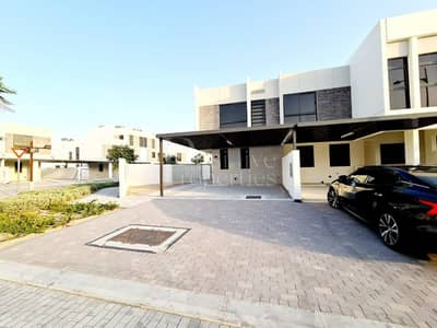 3 Bedroom Townhouse for Rent in Akoya Oxygen, Dubai - Best Unit - Only Single Row in Big Corner Layout