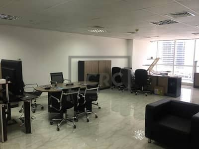 Office for Sale in Jumeirah Lake Towers (JLT), Dubai - Furnished | Lake View | Internal WC & Pantry