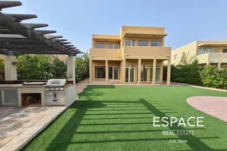 فیلا 3 غرف نوم للايجار في المرابع العربية، دبي - Type 8 - 3 Beds plus Maids - Well Maintained
