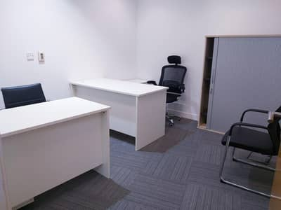 Office for Rent in Bur Dubai, Dubai - Fully Fitted Office space! Access With Meeting Room! No Commission.