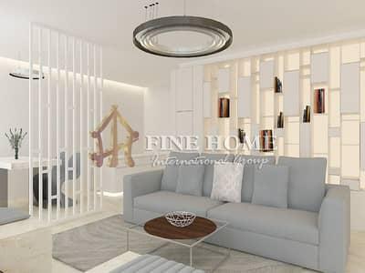 2 Bedroom Flat for Sale in Al Raha Beach, Abu Dhabi - 2 BR LOFT Apt. Full furniture Incredible Designs