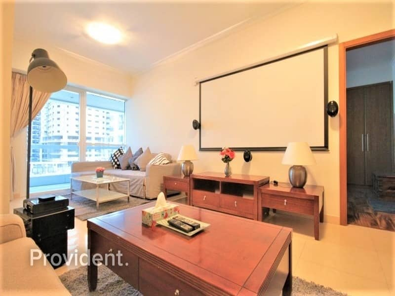 Fully Furnished 1 B/R | Well-maintained