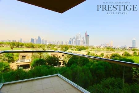 شقة 2 غرفة نوم للايجار في ذا فيوز، دبي - Large Study| Golf Tower | Vacant now | Golf View