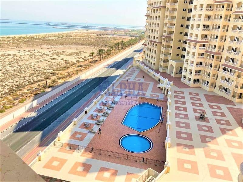 Luxury Sea View! 1 Bedroom | Unfurnished