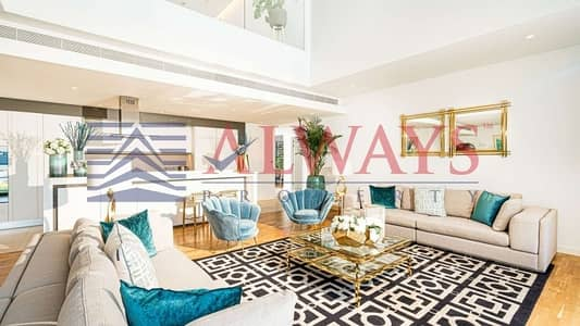 4 Bedroom Villa for Sale in Bluewaters Island, Dubai - Full Sea View || Lux. 4Bed Townhouse ||Pay 7 Yrs |