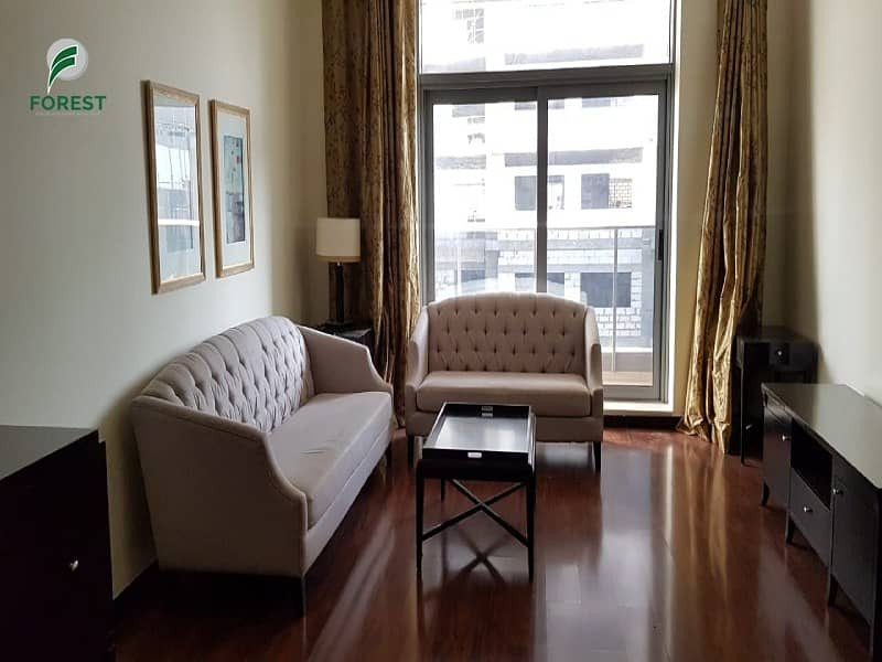 Fully Furnished |2 Beds |Ready To Move In |Vacant
